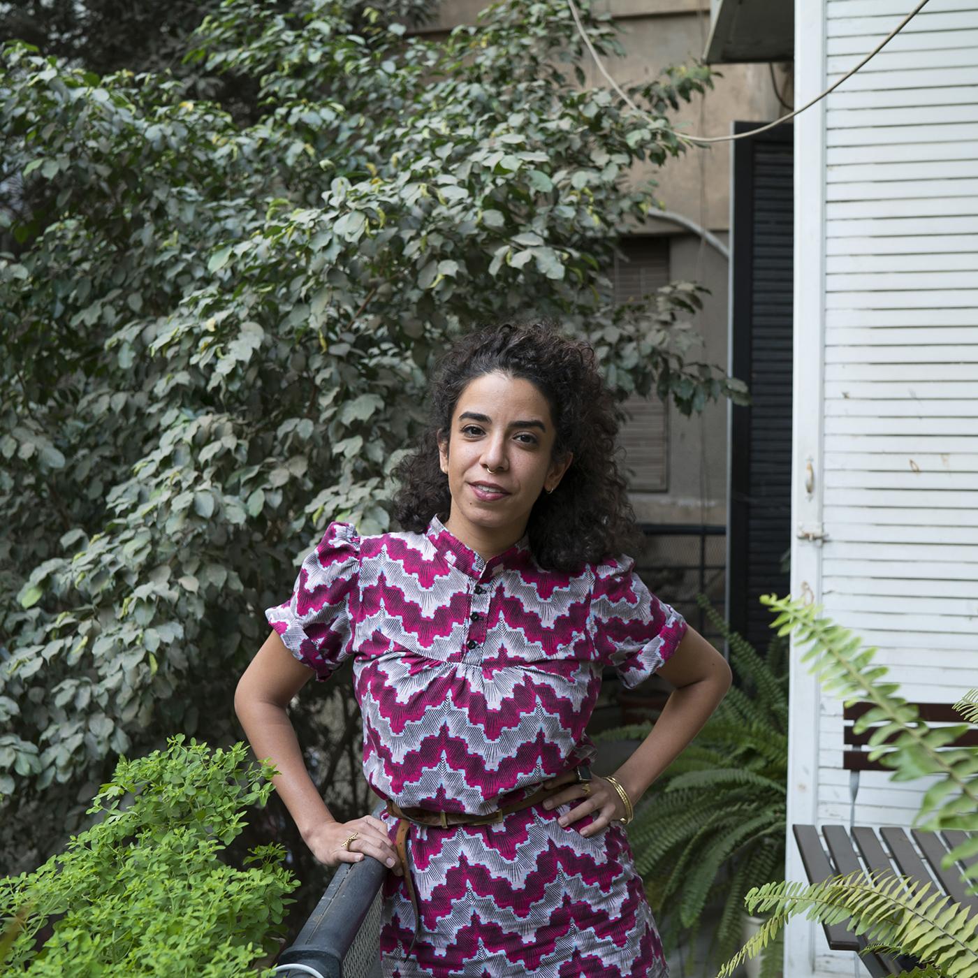 Valarie Arif, Cairo based Graphic Designer.