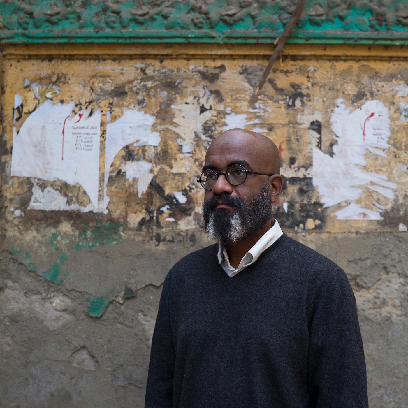 Amado Alfadni, Sudanese Visual Artist based in Cairo.